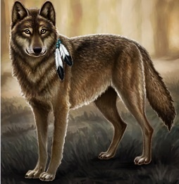 Lia's wolf form