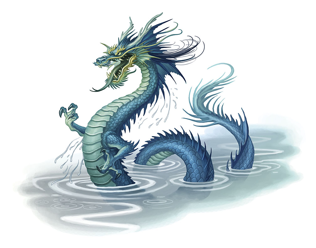 L~B~J~ images Water Dragon HD wallpaper and background ...