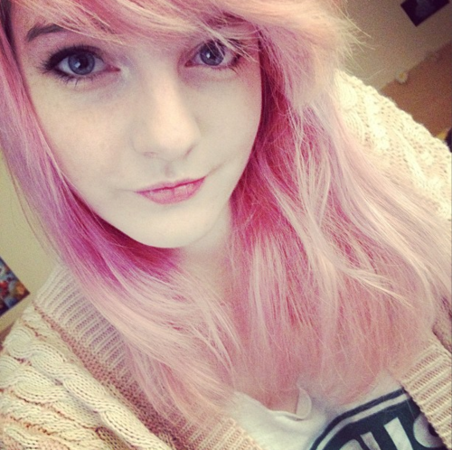 LDShadowLady Answers Questions wallpaper entitled My Cotton Candy Hair