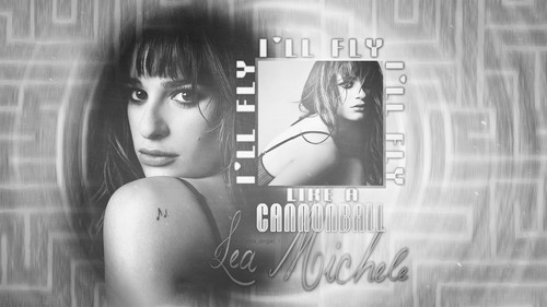 Lea Michele fondo de pantalla called Cannonball-1