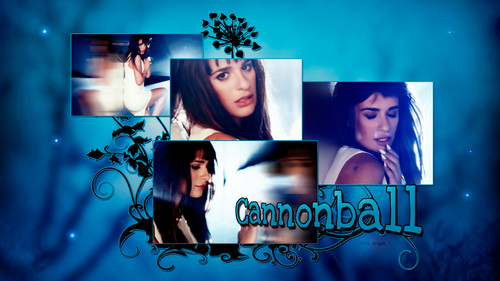 Lea Michele fondo de pantalla probably containing anime titled Cannonball-3