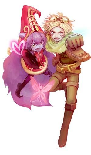 Lulu and Ezreal