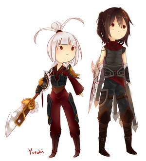Riven and Talon