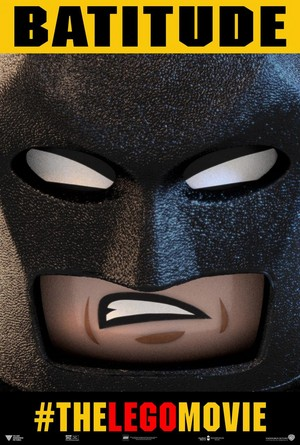 The Lego Movie - バットマン Poster 'BATITUDE'