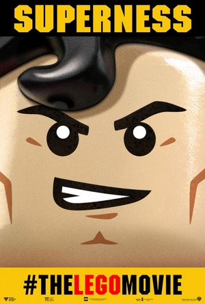 The Lego Movie - superman Poster 'SUPERNESS'