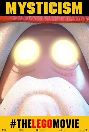 The LEGO Movie: Vitruvius Poster