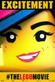 The Lego Movie - Wyldstyle Poster 'EXCITEMENT' - lego photo