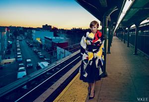 Lena Dunham// Vogue Magazine