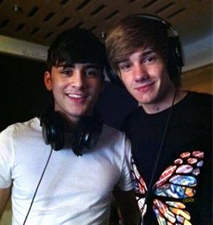Zayn and Liam