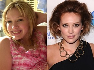 Hilary Duff: Then and Now