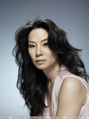 lucy liu wallpaper with a portrait entitled Lucy Liu Photoshoot