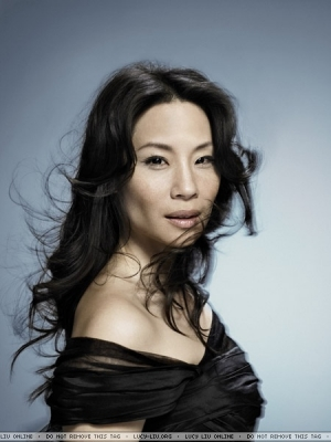 lucy liu wallpaper containing a portrait called Lucy Liu Photoshoot