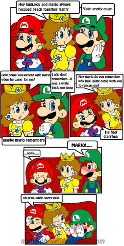 Luigi wallpaper with anime titled This is why mario went alone