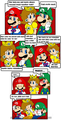 This is why mario went alone