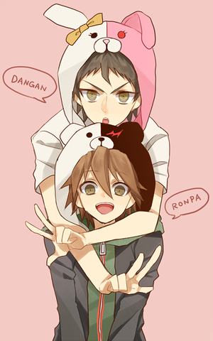 Naegi and Hinata