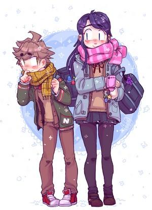 Naegi and Sayaka