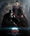 Batman vs Superman Fan-made Poster - man-of-steel photo