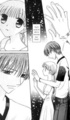 Tohru and Kyo: Fruits Basket - manga photo