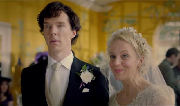 Mary and Sherlock