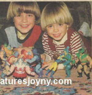 Young Matthew and his brother, Joey
