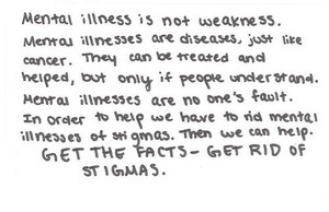 Get The Facts - Get Rid Of Stigmas