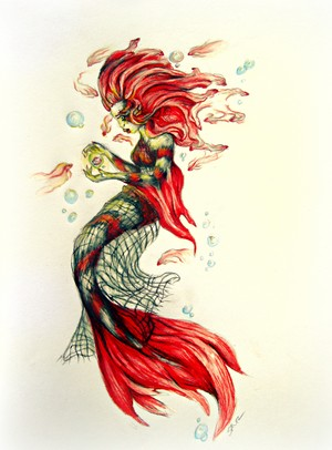 Betta Mermaid