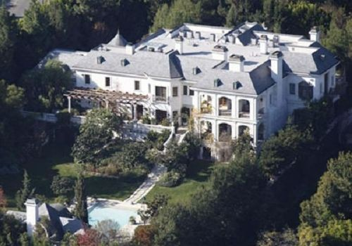 Michael's Final Place Of Residence On Carolwood Drive
