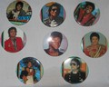 An Assortment Of Michael Jackson Buttons - michael-jackson photo