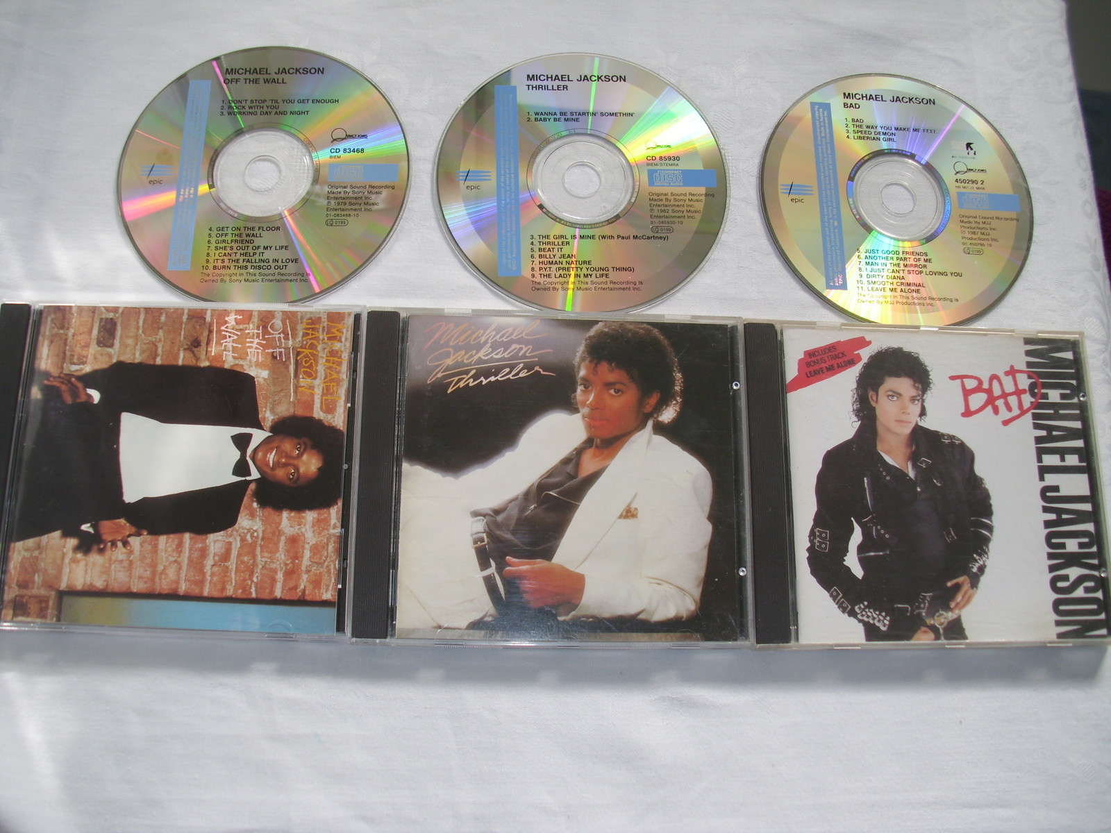 Three Of Michael's Classic Recordings On C.D.