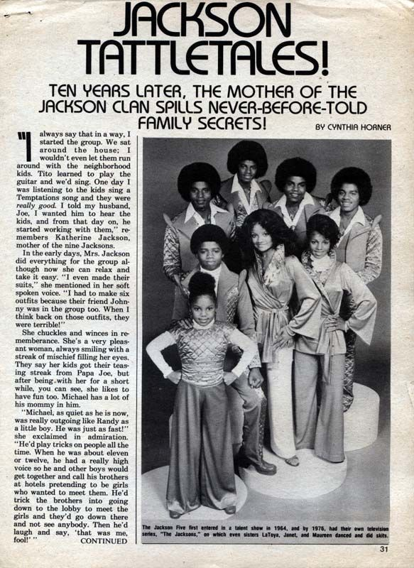 An Artikel Pertaining To The Jacksons