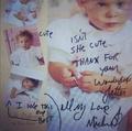 Michael's letter to a fan - michael-jackson photo