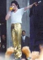 Michael Drinking A Glass Of Orange Juice - michael-jackson photo