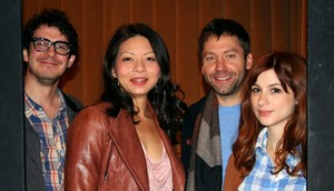 The Cast of Trudy and Max in Amore