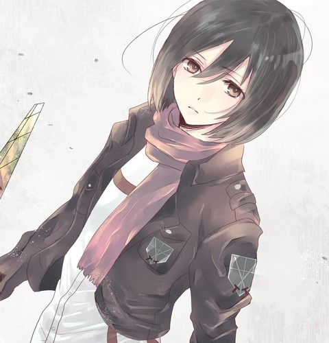 Mikasa ackerman wallpaper entitled mikasa ackerman