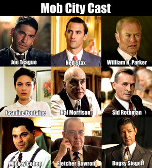 Mob City Cast