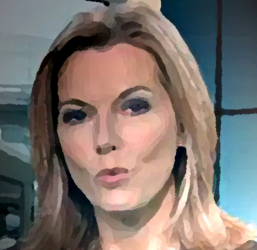 Modern Art wallpaper titled MARY NIGHTINGALE