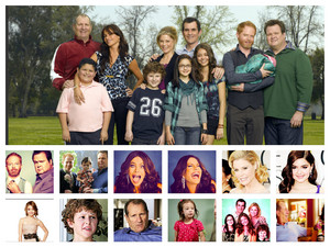 Modern Family Collage