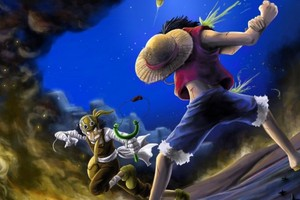 *Ussop v/s Luffy*