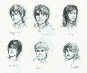 《龙骑士》 character sheet : Murtagh