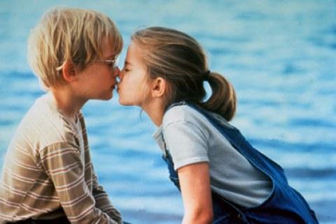 first girl kiss