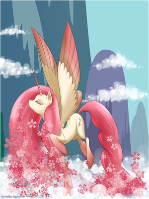Alicorn Princess kirsche Blossom