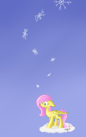 Fluttershy Snowflakes