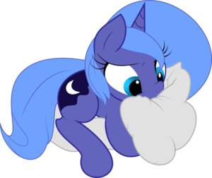 Luna as a Filly on a ulap