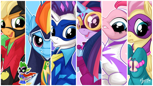 The Power Ponies