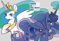 Princess Luna and Celestia - my-little-pony-friendship-is-magic photo