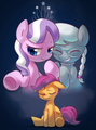 Diamond Tiara and Silver Spoon Making Fun of Scootaloo - my-little-pony-friendship-is-magic photo