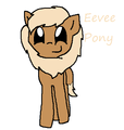 Ponymon: Eevee - my-little-pony-friendship-is-magic fan art