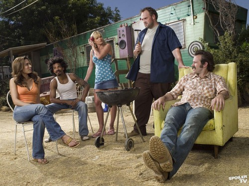 My Name is Earl wallpaper possibly with a barrow called My Name is Earl - Season 2 Promoshoot