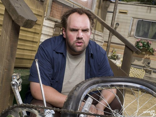My Name is Earl wallpaper containing an unicycle entitled Ethan Suplee as Randy Hickey [Season 2]