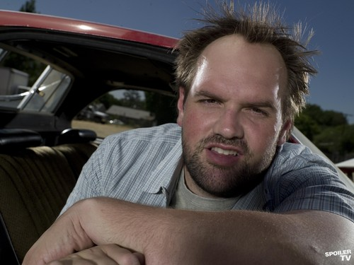 My Name is Earl wallpaper possibly with an automobile titled Ethan Suplee as Randy Hickey [Season 2]